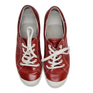 Joseph Seibel Red Leather